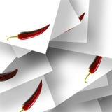 abstrakcjonistyczny tła chili Zdjęcie Stock