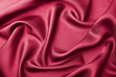 abstrakcjonistyczny tła czerwieni jedwab Obraz Royalty Free