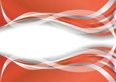 abstrakcjonistyczny tła czerwieni wektor royalty ilustracja