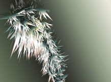 abstrakcjonistyczny tła grey srebro Obraz Royalty Free