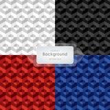 Abstrakcjonistyczny tła 4 kolorów brzmienia szablonu wektor Obraz Royalty Free