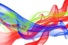 abstrakcjonistyczny tła koloru dymu biel Obraz Stock