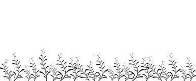 abstrakcjonistyczny tła kwiatu ramy wektor Zdjęcia Royalty Free
