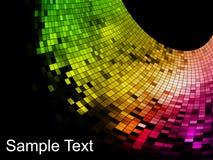 abstrakcjonistyczny tła mozaiki piksla kwadrat Fotografia Stock