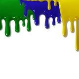 Abstrakcjonistyczny tło Brasil Obrazy Stock
