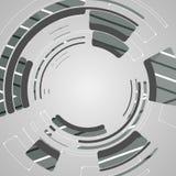 Abstrakcjonistyczny tło dla futurystycznego technika projekta Fotografia Stock