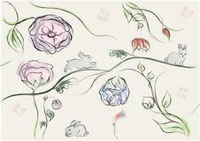 abstrakcjonistyczny tło Easter Obraz Royalty Free