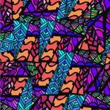Abstrakcjonistyczny tło geometryczni wzory Fotografia Stock