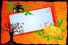 abstrakcjonistyczny tło Halloween Zdjęcie Stock