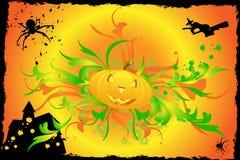 abstrakcjonistyczny tło Halloween Obrazy Royalty Free
