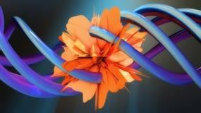 Abstrakcjonistyczny tło i kolory Fotografia Royalty Free