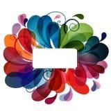 abstrakcjonistyczny tło kolorowy eps10 Zdjęcie Stock