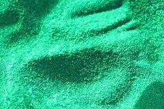 Abstrakcjonistyczny tło kolorowy zielony piasek dla sztuki terapii obrazy royalty free