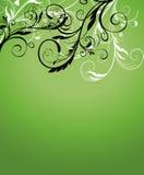 abstrakcjonistyczny tło kwiecisty Obraz Royalty Free