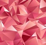 Abstrakcjonistyczny tło, mozaika triangulated Obraz Royalty Free