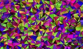 Abstrakcjonistyczny tło, mozaika triangulated Fotografia Royalty Free