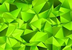 Abstrakcjonistyczny tło, mozaika triangulated Obrazy Stock