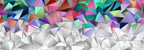 Abstrakcjonistyczny tło, mozaika triangulated Obraz Stock