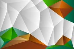 Abstrakcjonistyczny tło od trójboków Obraz Royalty Free