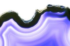 Abstrakcjonistyczny tło - purpura plasterka kopalina Zdjęcia Stock