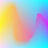 abstrakcjonistyczny tło wektor falisty Obraz Stock