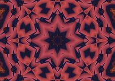 Abstrakcjonistyczny tło wzór, kalejdoskop Obrazy Stock