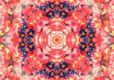 Abstrakcjonistyczny tło wzór, kalejdoskop Fotografia Stock