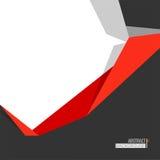 Abstrakcjonistyczny tło z geometrycznym elementem Obrazy Stock
