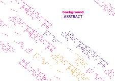 Abstrakcjonistyczny tło z geometrycznymi wzorami dla strony internetowej i projekta, Obrazy Stock