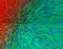 Abstrakcjonistyczny tło z jaskrawym skutkiem Fotografia Stock