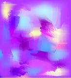 Abstrakcjonistyczny tło z lilymi punktami Obrazy Royalty Free