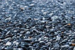 Abstrakcjonistyczny tło z otoczakami, round morza kamienie zdjęcie stock