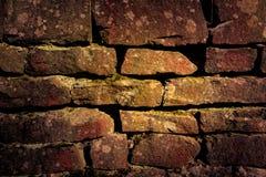 Abstrakcjonistyczny tło z starym brickwork Zdjęcie Royalty Free