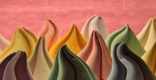 Abstrakcjonistyczny tło z szpotawym papierowym origami tworzy Fotografia Royalty Free