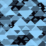 Abstrakcjonistyczny tło z trójbokami Mody geometryczna lekka wektorowa ilustracja ilustracja wektor