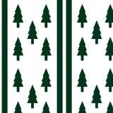 Abstrakcjonistyczny tło zielony drzewo Obraz Stock