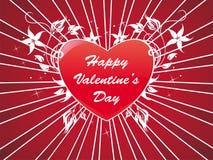 abstrakcjonistyczny tła serca valentine Fotografia Stock