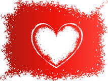abstrakcjonistyczny tła serca valentine Obrazy Stock