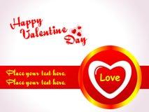 abstrakcjonistyczny tła serca valentine Zdjęcie Stock