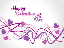 abstrakcjonistyczny tła serca valentine Zdjęcie Royalty Free