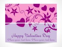 abstrakcjonistyczny tła serca valentine Obraz Royalty Free