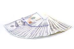 abstrakcjonistyczny tła banknotów dolar pieniężny Obrazy Royalty Free