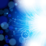 abstrakcjonistyczny tła błękit światło Obraz Royalty Free