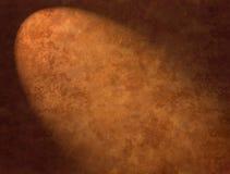 abstrakcjonistyczny tła brąz światło reflektorów Zdjęcia Royalty Free