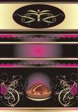abstrakcjonistyczny tła cukierków czekolady wrappin Zdjęcia Royalty Free