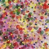 abstrakcjonistyczny tła plamy bokeh stubarwny Obrazy Royalty Free