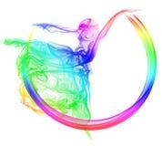 abstrakcjonistyczny taniec Zdjęcie Royalty Free