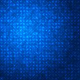 Abstrakcjonistyczny techno zmrok - błękitny iskrzasty tło Zdjęcia Stock