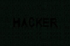 Abstrakcjonistyczny technologia binarnego kodu tło Cyfrowych binarni dane i hackera pojęcie royalty ilustracja