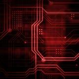 Abstrakcjonistyczny technologiczny tła składać się z bezlik o Obraz Royalty Free
